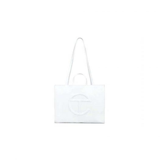 Telfar Shopping Bag Large White