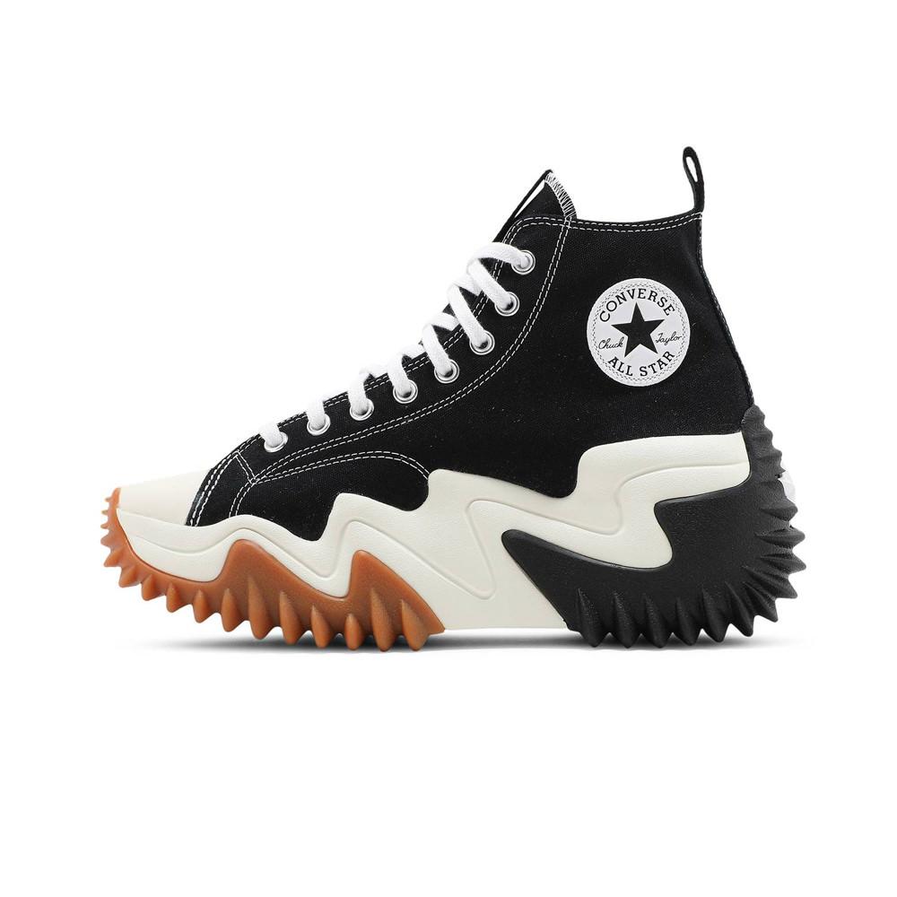 Converse Run Star Motion Black White Gum