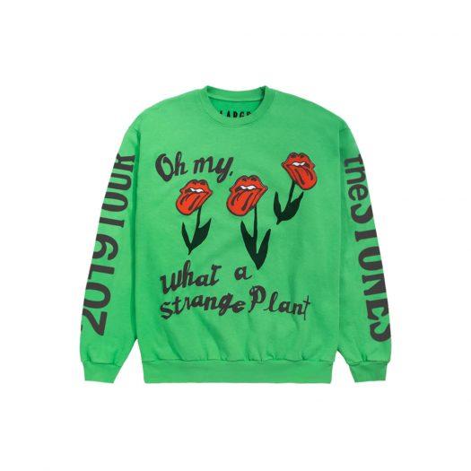 Cactus Plant Flea Market Rolling Stones 2019 Tour Crewneck Green