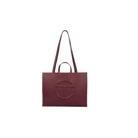 Telfar Shopping Bag Large Oxblood