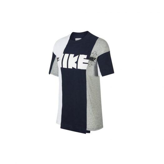 Nike x Sacai Tee Grey/Navy