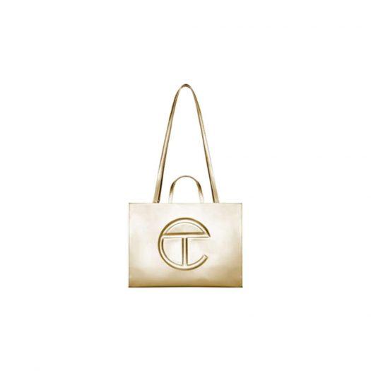 Telfar Shopping Bag Large Gold