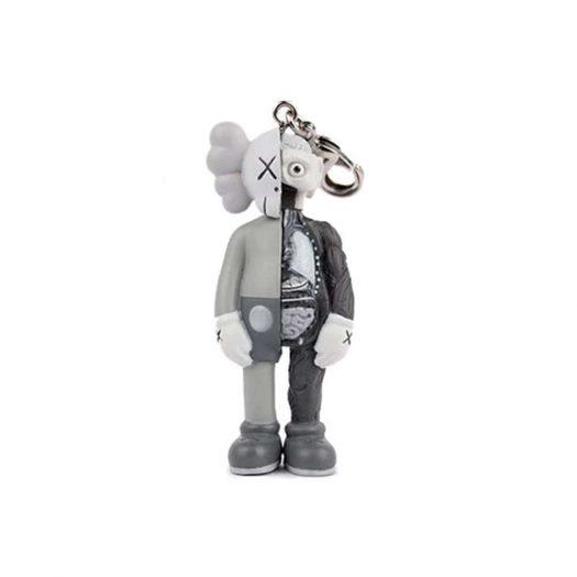 KAWS Companion Flayed Keychain Grey (2009)
