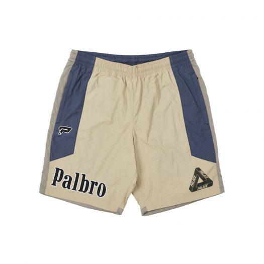 Palace Sports Shell Shorts Tan