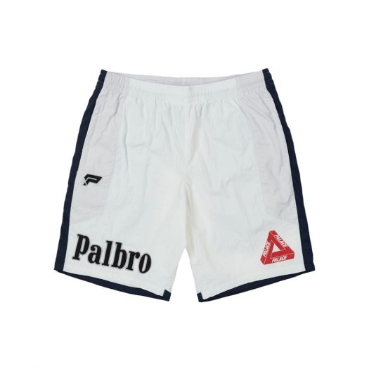 Palace Sports Shell Shorts White