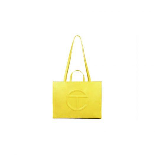 Telfar Shopping Bag Large Yellow