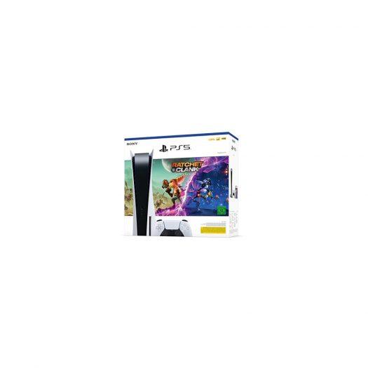 Sony PlayStation 5 PS5 Ratchet & Clank: Rift Apart (EU Plug) Console Bundle (CFI-1016A 70639)