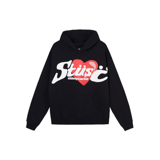 Stussy x CPFM Heart Hoodie Black