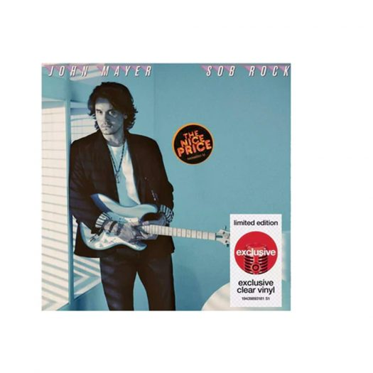 John Mayer Sob Rock (Target Exclusive) Clear LP Vinyl Clear