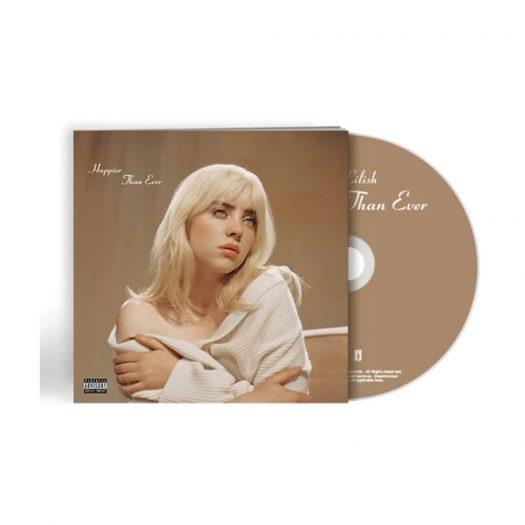 Billie Eilish Happier Than Ever CD Photobook CD Brown