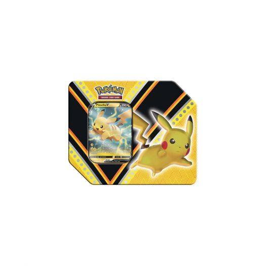 2020 Pokemon TCG V Powers Pikachu V Tin