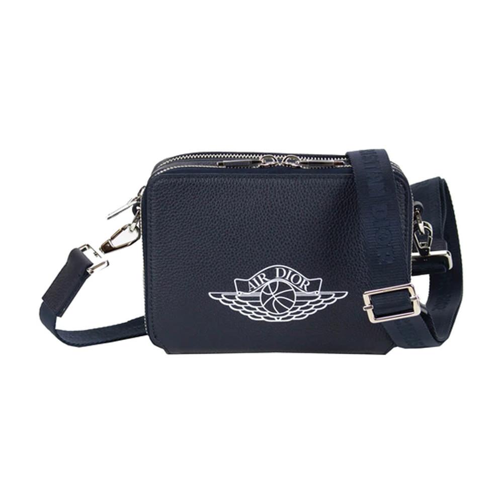 Dior x Jordan Wings Messenger Bag Navy