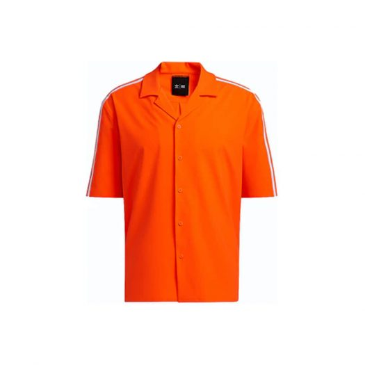 adidas Ivy Park Swim Cover-Up Shirt (Mens) Solar Orange