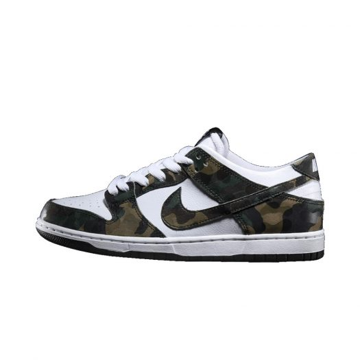 Nike Dunk SB Low Camo Legion Green
