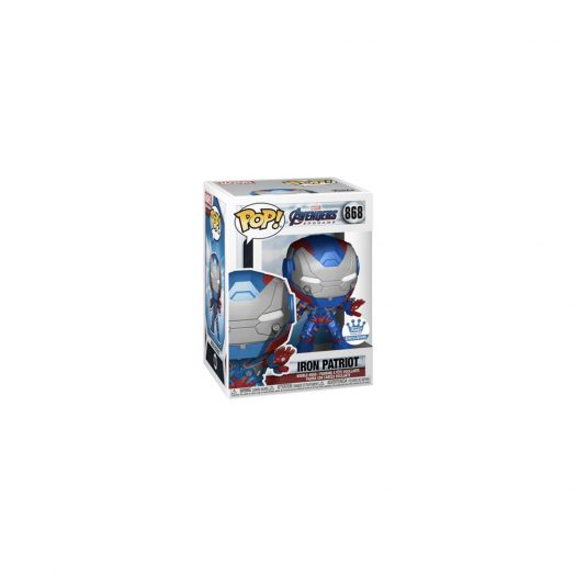 Funko Pop! Marvel Avengers Endgame Iron Patriot Funko Shop Exclusive Figure #868
