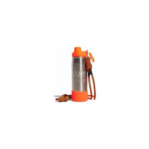 adidas Ivy Park Water Bottle Metallic Silver/Solar Orange