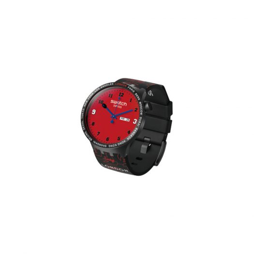 Swatch x Bape Big Bold London Edition S027Z701S - 47mm in Plastic