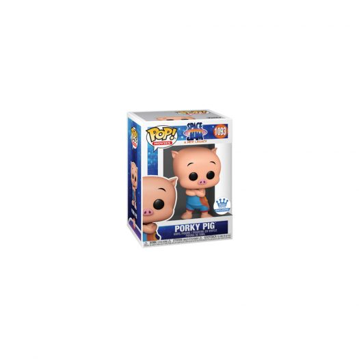 Funko Pop! Movies Space Jam A New Legacy Porky Pig Funko Shop Exclusive Figure #1093