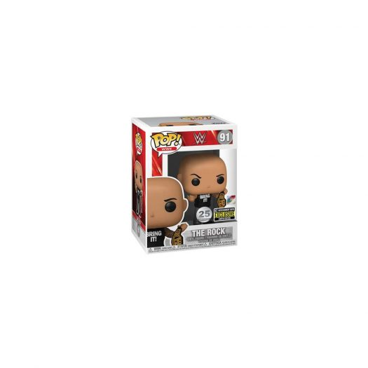 Funko Pop! WWE The Rock with Championship Belt Entertainment Earth Exclusive Figure #917