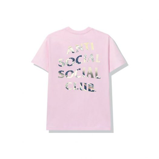 Anti Social Social Club (Japan Only) 4 Car Pile-Up Tonkotsu Logo Tee Pink