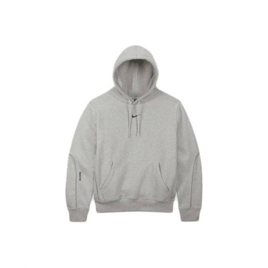 Nike x Drake NOCTA Cardinal Stock Hoodie Grey