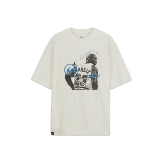 Travis Scott x Jordan x Fragment T-shirt White