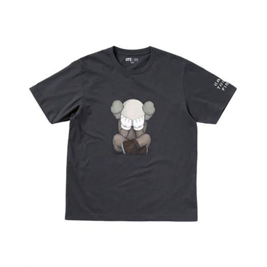 KAWS x Uniqlo Tokyo First Tee (Japanese Sizing) Dark Grey