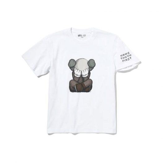 KAWS x Uniqlo Tokyo First Mori Arts Gallery Exclusive Tee (Japanese Sizing) White