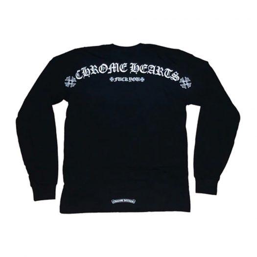Chrome Hearts Shoulder Logo L/S T-shirt Black