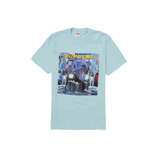 Supreme Richest Tee Turquoise