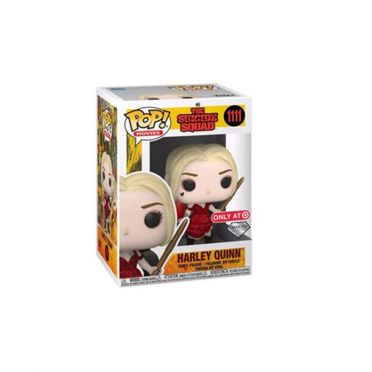 Funko Pop! Movies Suicide Squad Harley Quinn Diamond Collection Target Exclusive Figure #1111