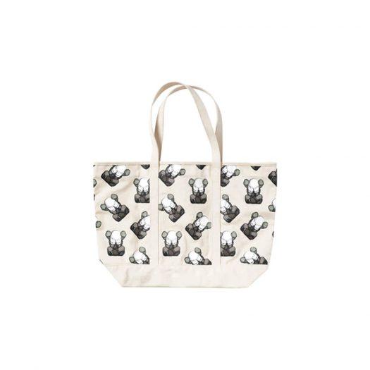 KAWS x Uniqlo Tokyo First Tote Bag Off White
