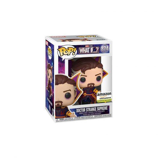 Funko Pop! Marvel Studios What If...? Doctor Strange Supreme GITD Amazon Exclusive Figure #874