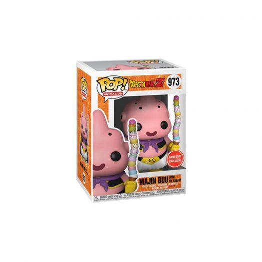 Funko Pop! And Tee Animation Dragonball Z Majin Buu With Ice Cream GameStop Exclusive Figure #973