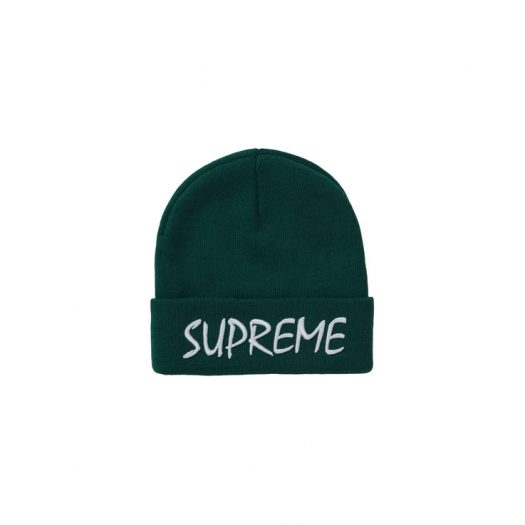 Supreme FTP Beanie Dark Green