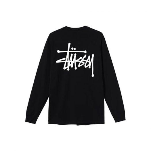 Stussy Basic L/S T-shirt Black