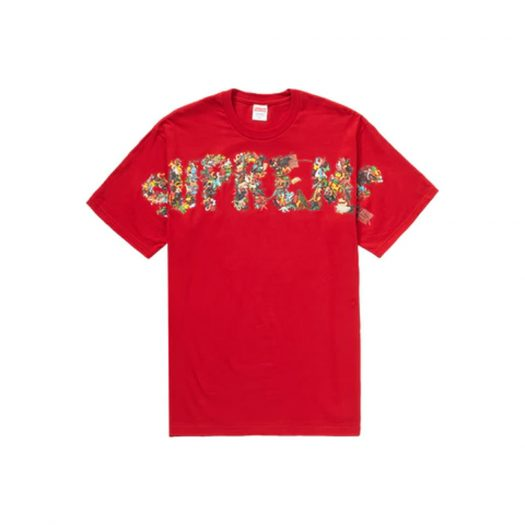 Supreme Toy Pile Tee Red