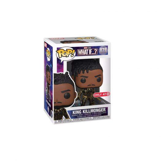 Funko Pop! Marvel Studios What If...? King Killmonger Target Exclusive Figure #878