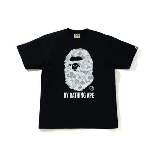 BAPE Space Camo By Bathing Ape Tee Black