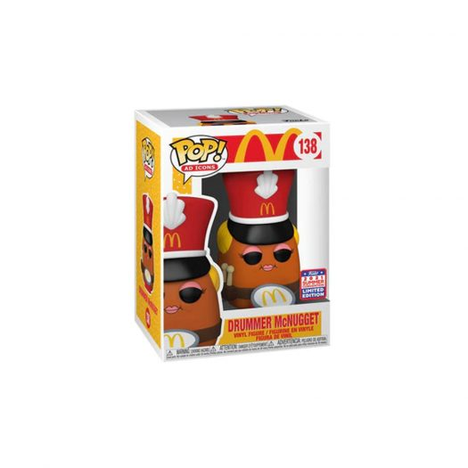 Funko Pop! Ad Icons McDonalds Drummer McNugget 2021 Summer Convention Exclusive Figure #138