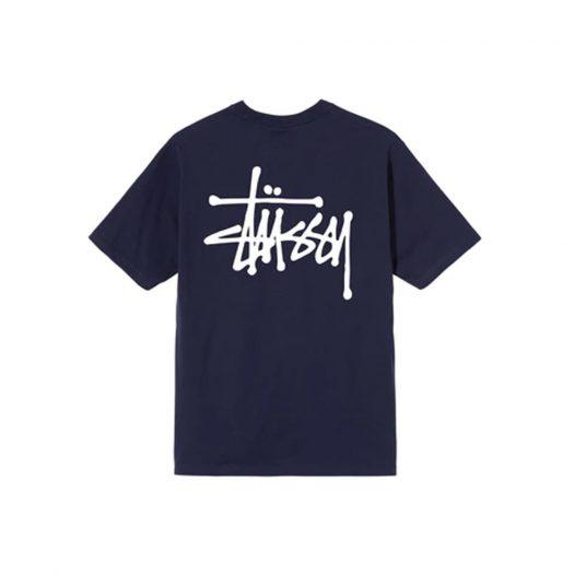 Stussy Basic T-shirt Navy