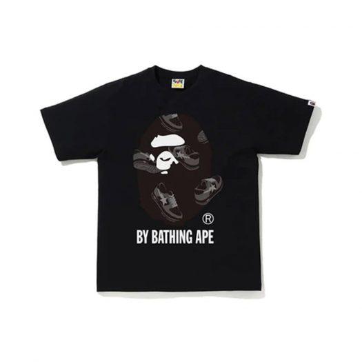 Bape Sta Random By Bathing Ape Tee Black/black