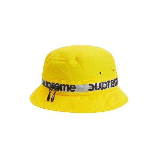Supreme Reflective Zip Crusher Yellow