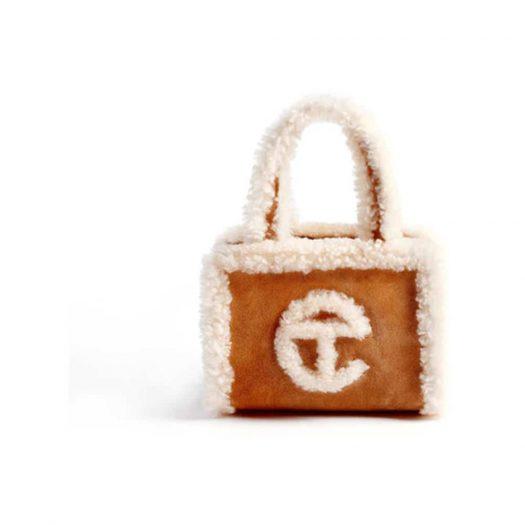 Telfar x UGG Shopping Bag Small Chestnut