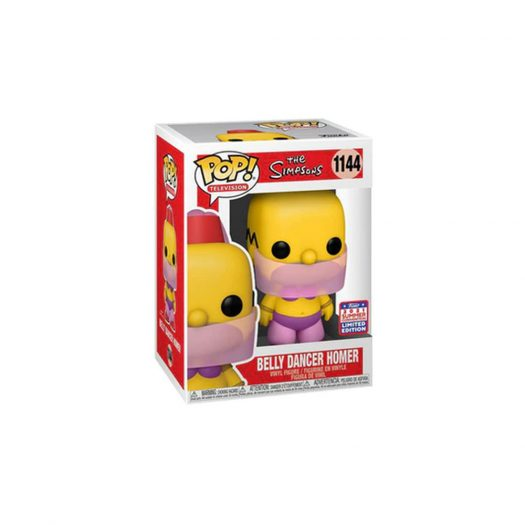 Funko Pop! Television The Simpsons Belly Dancer Homer 2021 Summer Convention Exclusive Figure #1144