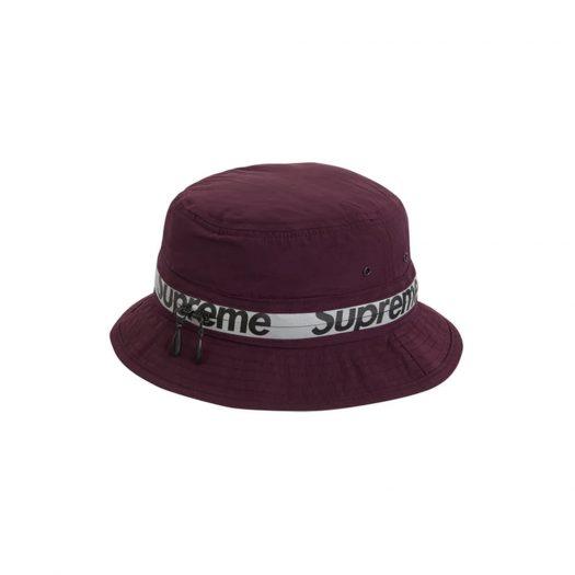 Supreme Reflective Zip Crusher Purple