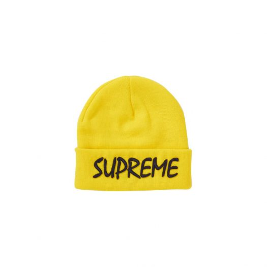 Supreme FTP Beanie Yellow