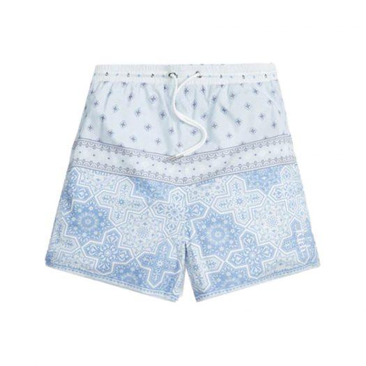Kith Printed Poplin Active Shorts Avalanche