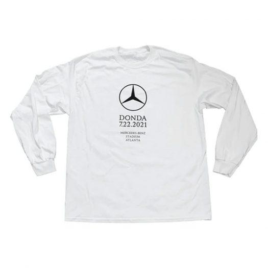 Kanye West DONDA Atlanta Listening Event L/S T-shirt White