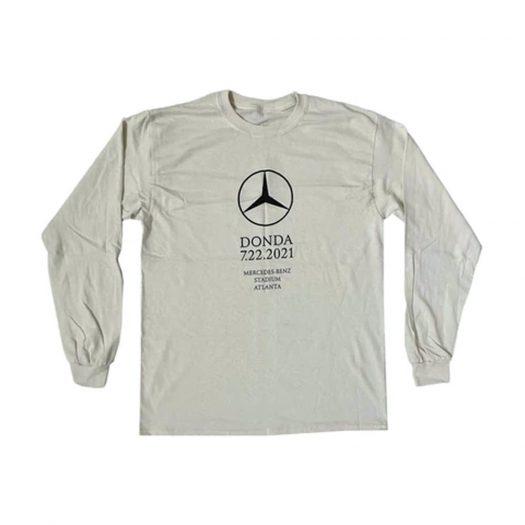 Kanye West DONDA Atlanta Listening Event L/S T-shirt Cream